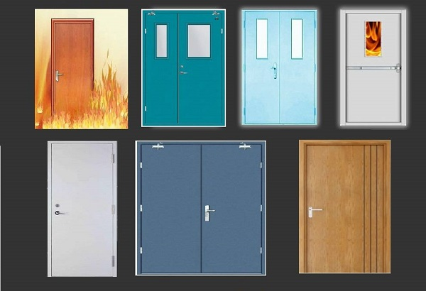 Giới thiệu về cửa thép chống cháy