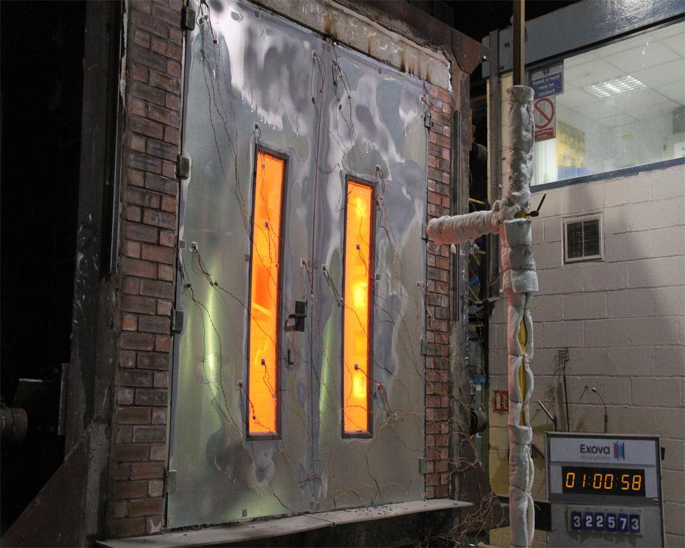 Những quy định của cửa chống cháy đối với các công trình