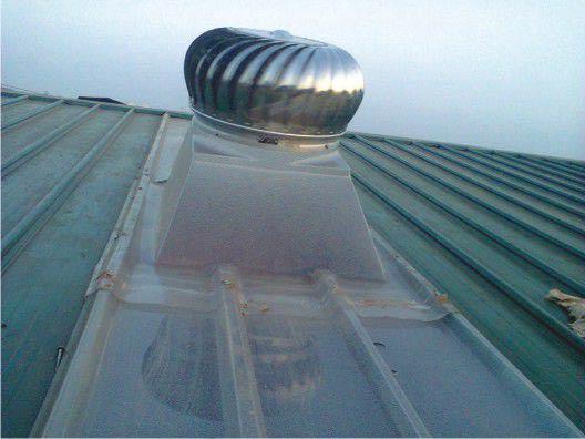 Quả cầu thông gió D800 inox 201