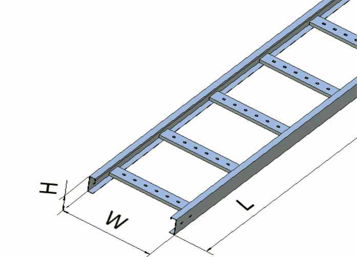Thang cáp sơn tĩnh điện 150x35 dày 1.0