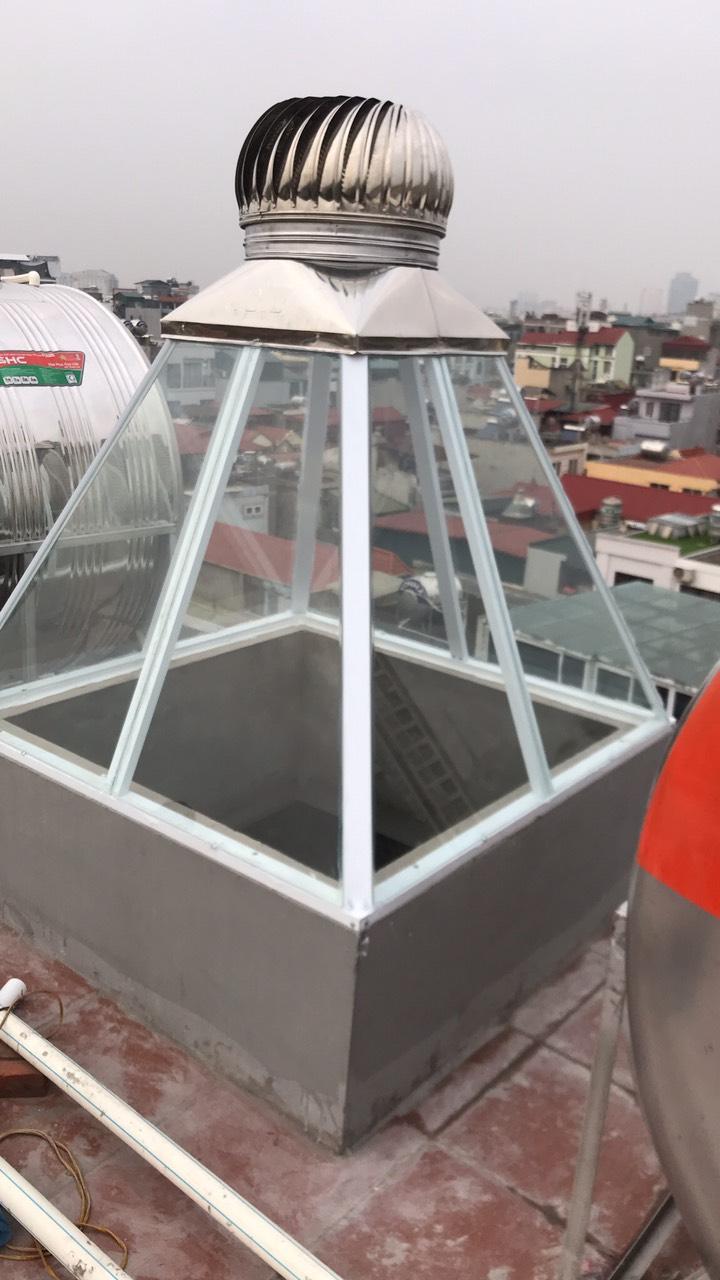 Tum kính lắp quả cầu giếng trời mang lại nhiều lợi ích thiết thực