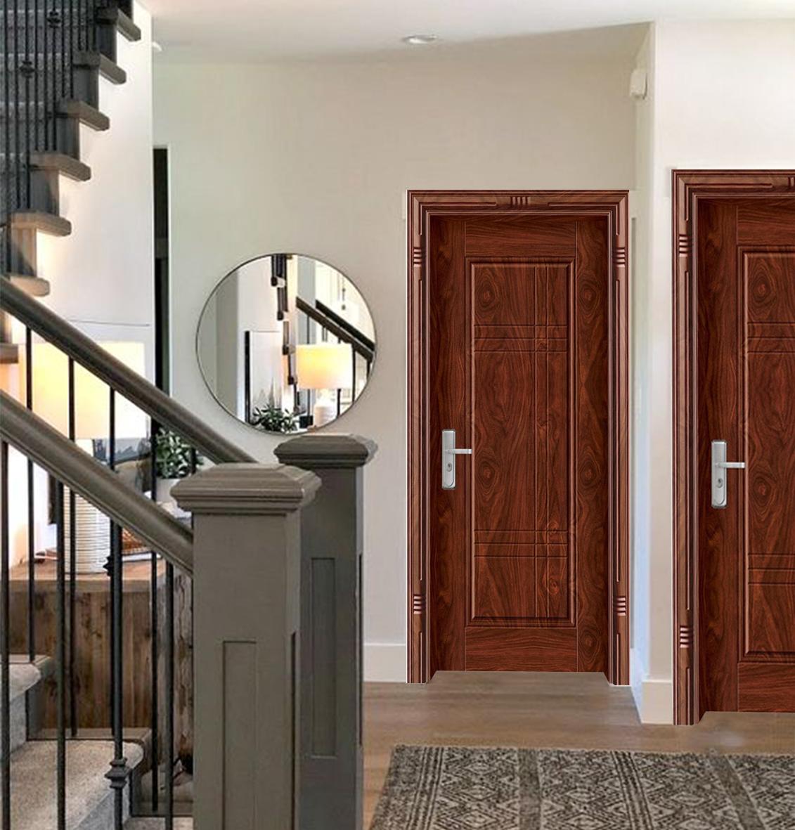 Ưu điểm cửa thép vân gỗ chống cháy