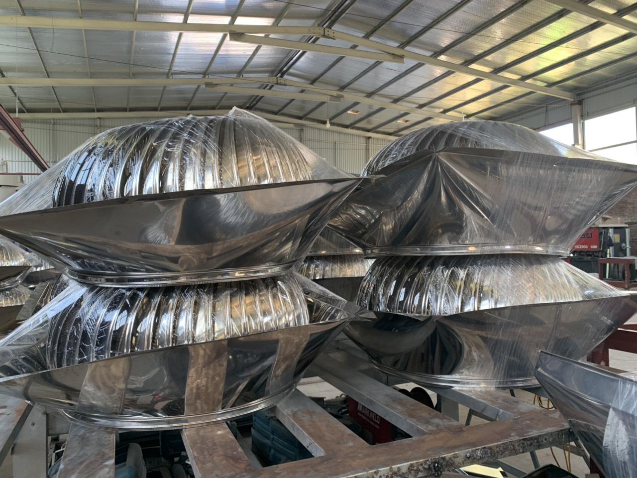 Hiện nay quả cầu thông gió được sử dụng rất nhiều cho các nhà xưởng