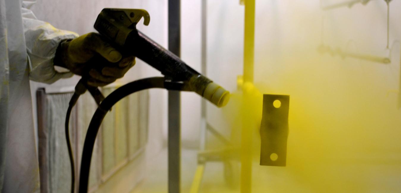 Tìm hiểu về công nghệ sơn tĩnh điện cửa chống cháy