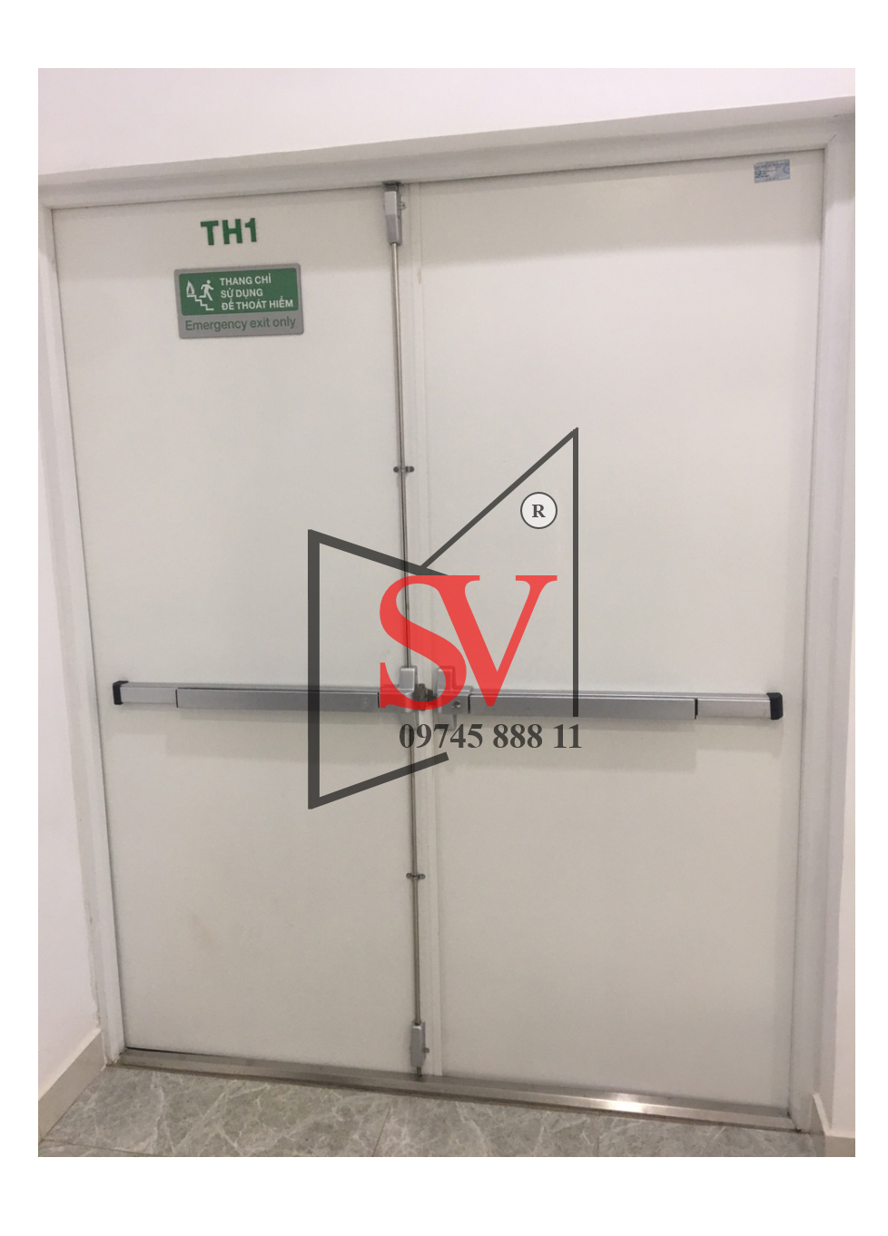 Cửa chống cháy Sơn Việt 120 phút