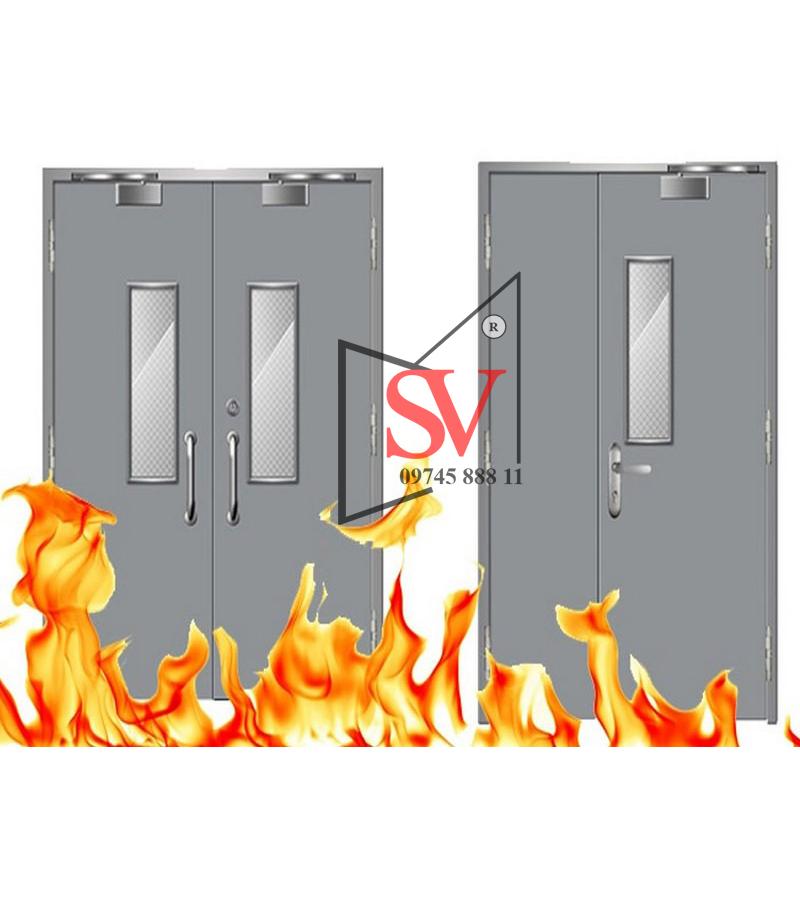 Cửa chống cháy 1 cánh