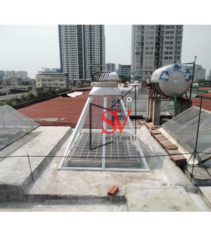 Quả cầu thông gió D460 inox 304