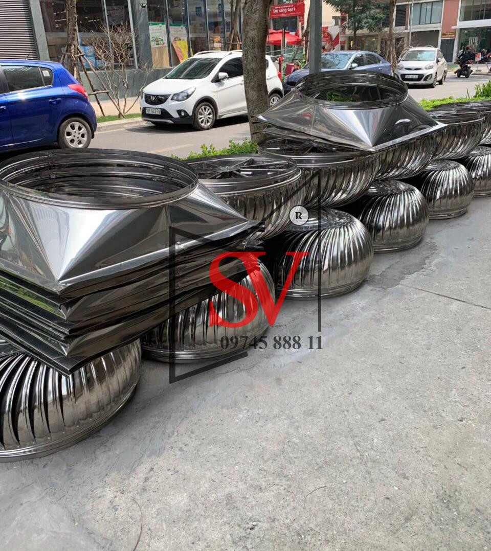 Quả cầu thông gió Sơn Việt D800 inox 201