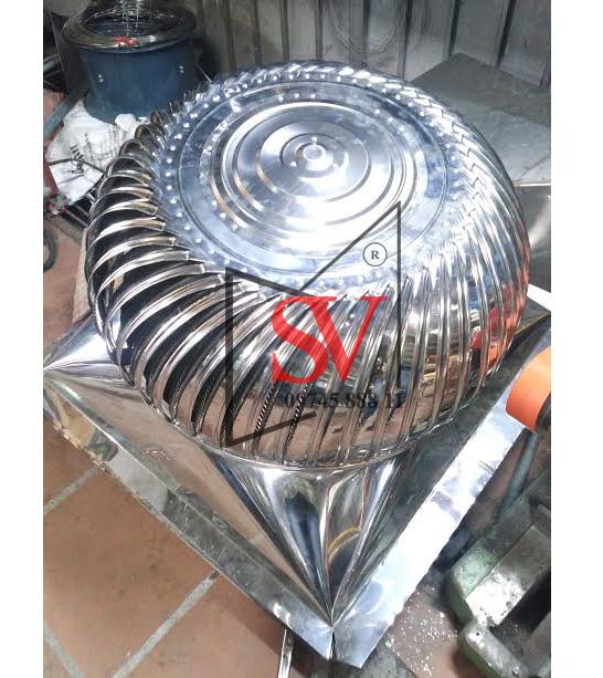 Quả cầu thông gió D360 inox 201